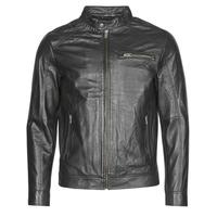 Clothing Men Leather jackets / Imitation leather Selected SLHC01 Black