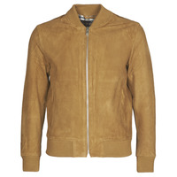 Clothing Men Leather jackets / Imitation leather Selected SLHBROKE Brown