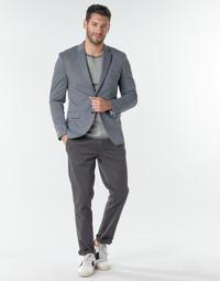 Clothing Men Chinos Selected SLHNEW PARIS Grey