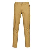 Clothing Men Chinos Selected SLHNEW PARIS Camel