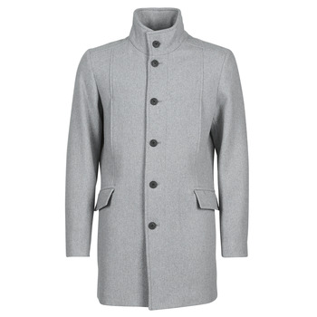Clothing Men Coats Selected SLHMORRISON Grey