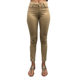 Clothing Women Chinos LPB Woman Les Petites bombes Pantalon Regular Lina Beige Beige