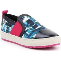 Shoes Women Slip-ons Geox D Breeda A D642QA-0AN54-C3B4P Multicolor
