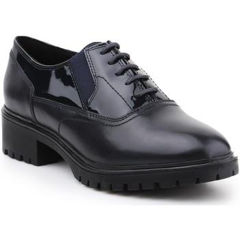 Shoes Women Derby Shoes Geox D Peaceful H D640GH-04366-C4021 navy