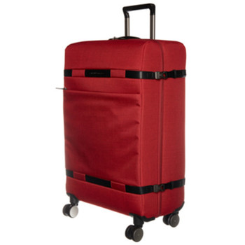 Bags Men Soft Suitcases Piquadro Trolley Red  Man Red