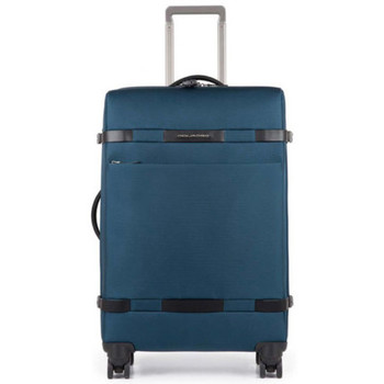 Bags Men Soft Suitcases Piquadro Bag Green  Man Green