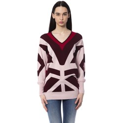 Clothing Women Jumpers Byblos Blu Pullover Burgundy  Woman Bordeaux