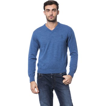 Clothing Men Jumpers Billionaire Pullover Blue  Man Blue