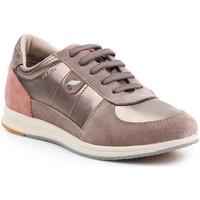 Shoes Women Low top trainers Geox Goex D avery B - Pearl  D52H5B-0AJ22-C9HQ6 gold, beige