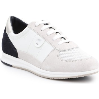 Shoes Women Low top trainers Geox D Avery B D52H5B-05422-C1352 beige, black