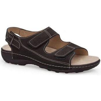 Shoes Men Sandals Calzamedi BECHAMP SANDALS BLACK
