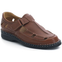 Shoes Men Sandals Calzamedi SANDALS  GIOTTO BROWN
