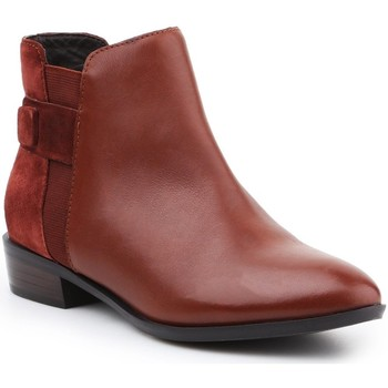 Shoes Women Ankle boots Geox D Lover F D640CF-04322-C6315 brown