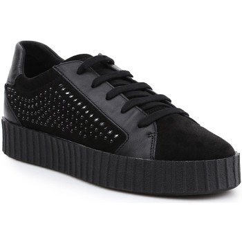 Shoes Women Low top trainers Geox D Hidence B D6434B-02285-C9999 black