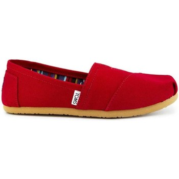 Shoes Women Slip-ons Toms W. original classic red