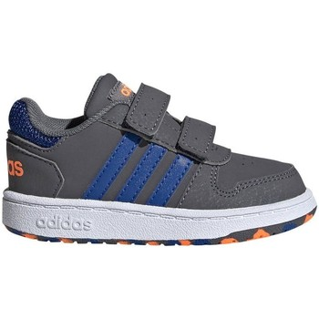 Shoes Children Low top trainers adidas Originals Hoops 20 Cmf I Grey