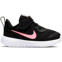 Shoes Girl Low top trainers Nike Revolution 5 Black