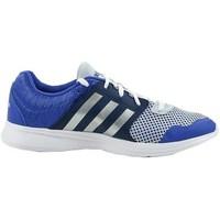 Shoes Women Fitness / Training adidas Originals Essential Fun II W White, Blue, Navy blue
