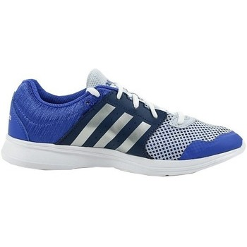 Shoes Women Fitness / Training adidas Originals Essential Fun II W White, Blue, Navy blue
