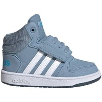 Shoes Children Hi top trainers adidas Originals Hoops Mid 20 I Blue