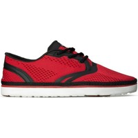 Shoes Men Low top trainers Quiksilver AG47 Amphibian White,Black,Red