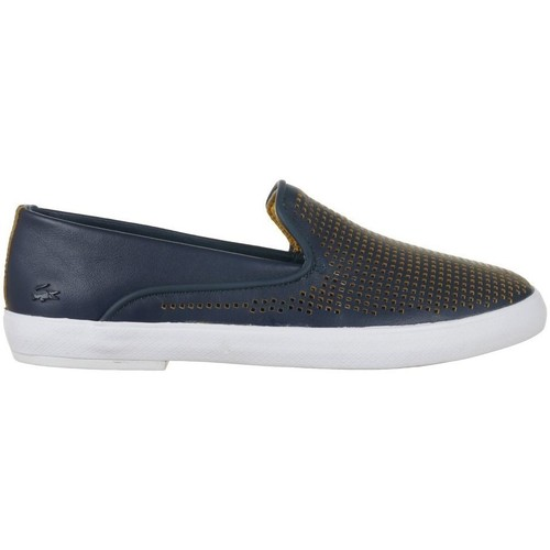 Shoes Women Slip-ons Lacoste Cherre 216 1 Caw Navy blue