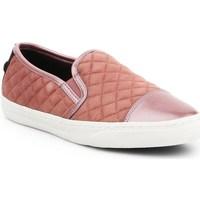Shoes Women Slip-ons Geox D Nclub Brown