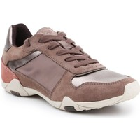 Shoes Women Low top trainers Geox D Tale XG Brown