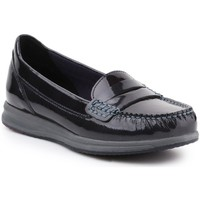 Shoes Women Loafers Geox D Avery Black