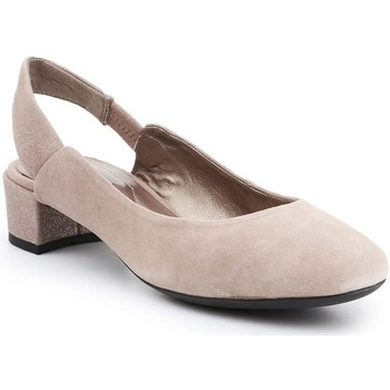 Shoes Women Heels Geox D Carey Beige