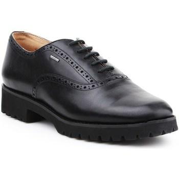 Shoes Women Derby Shoes Geox D Ashleen Abx Black
