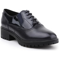 Shoes Women Derby Shoes Geox D Peaceful Black