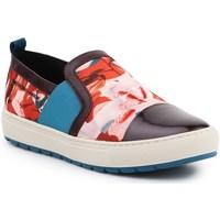 Shoes Women Slip-ons Geox D Breeda Red,Blue,Brown