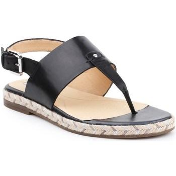 Shoes Women Sandals Geox D Kolleen Black