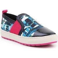 Shoes Women Slip-ons Geox D Breeda Black,Red,Blue