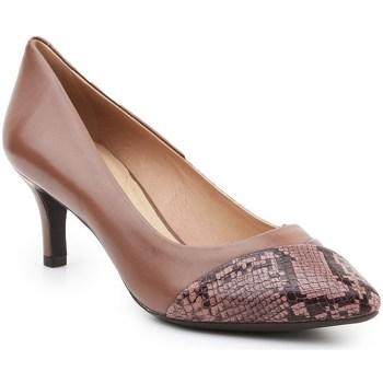 Shoes Women Heels Geox D Elina Brown