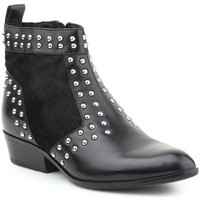 Shoes Women Ankle boots Geox D Kennity Black