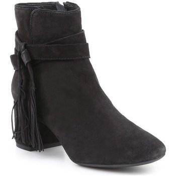 Shoes Women Ankle boots Geox D Audalies Black