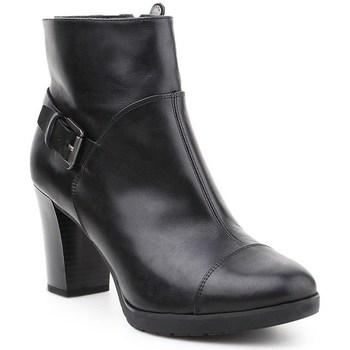 Shoes Women Ankle boots Geox D Raphal Mid Black