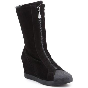 Shoes Women High boots Geox D Eleni Black