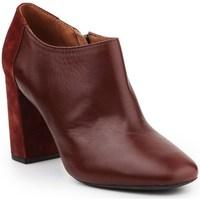 Shoes Women Shoe boots Geox D Audalies Brown