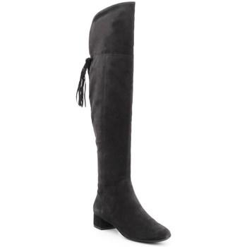 Shoes Women Thigh boots Geox D Ncarey Black