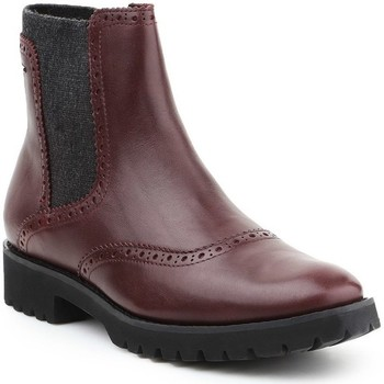 Shoes Women Ankle boots Geox D Ashleen Abx Brown