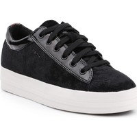 Shoes Women Low top trainers Geox D Hidence B D4234B-0PWHH-C9999 black