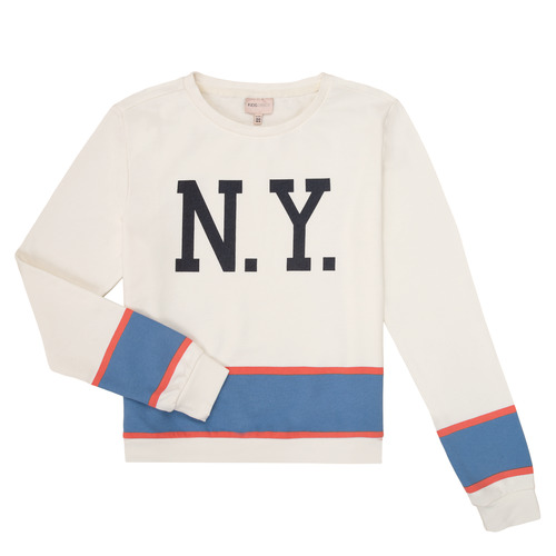Clothing Girl Sweaters Only KONSOFIE White / Blue