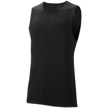Clothing Men Tops / Sleeveless T-shirts Nike Drifit Black