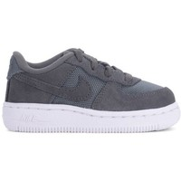 Shoes Children Low top trainers Nike Force 11 White, Grey