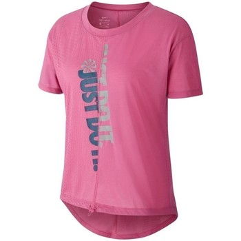 Clothing Women Short-sleeved t-shirts Nike CQ7916691 Pink