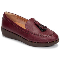Shoes Women Loafers FitFlop PETRINA PATENT LOAFERS Red