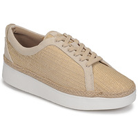 Shoes Women Low top trainers FitFlop RALLY BASKET WEAVE SNEAKERS Beige